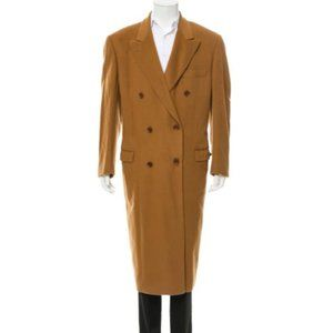 Loro Piana Double Breasted Cashmere Trench Coat